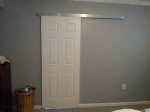 Here is why a barn door is a bad idea for a bathroom