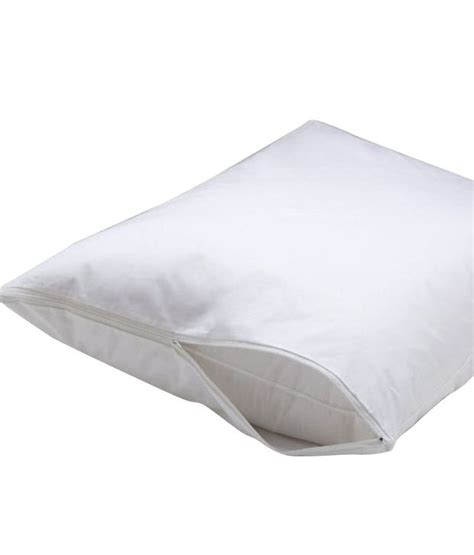 Vinyl Pillow Covers by Deluxe Vinyl Pillow Protector With Zipper 2 Pillow Covers