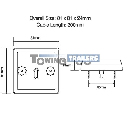 100 wiring diagram for erde trailer australian