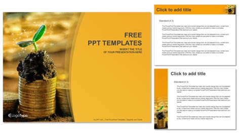 finance templates for powerpoint free download capital growth finance ppt templates