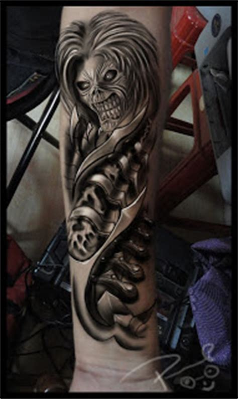 iron maiden tattoo designs best studio in bangalore astron tattoos india