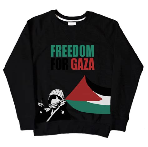 T Shirt Freedom For Gaza freedom for gaza kid black sweatshirt 163 19 99