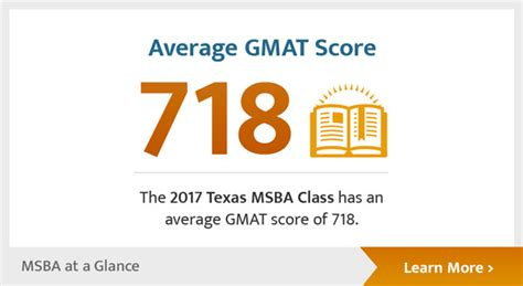 Ut Mba Average Gmat by Master Of Science Business Analytics Mccombs
