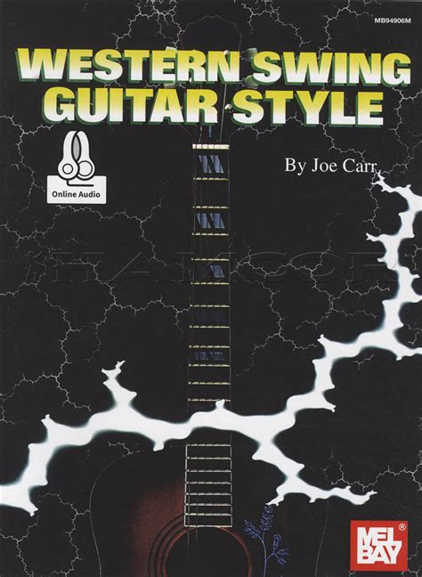 western swing music western swing guitar style tab music book with audio by