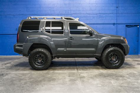 lifted silver nissan frontier used lifted 2014 nissan xterra pro 4x 4x4 suv for sale 35884