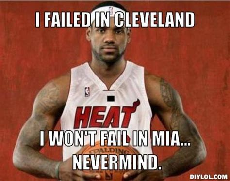 Sports Meme Generator - lebron james legacy will be the biggest carpetbagger in