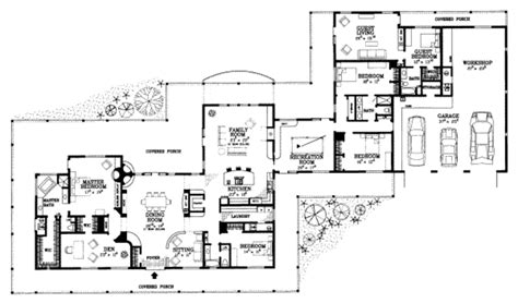 390 square feet ranch style house plan 5 beds 4 baths 5024 sq ft plan