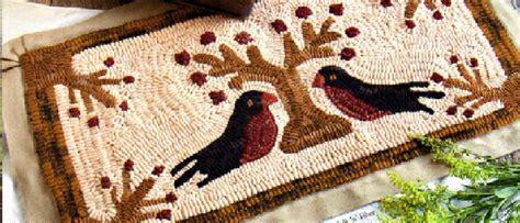 punch needle rug hooking supplies folk n fiber primitive rug hooking