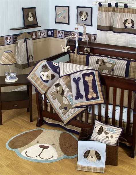 Baby Boy Crib Themes Sumersault Show Doggies Baby Bedding Collection Baby Bedding And Accessories