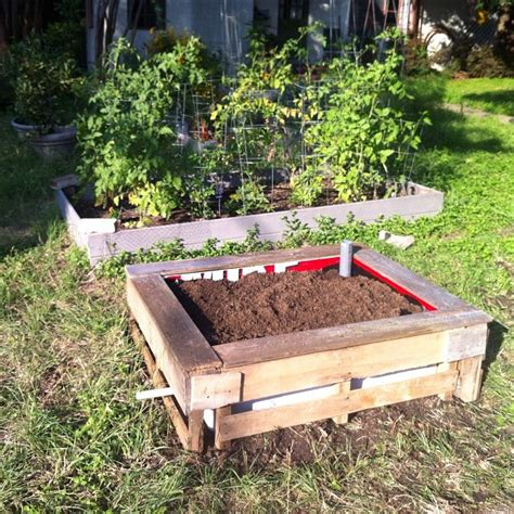 wicking garden bed atx diy