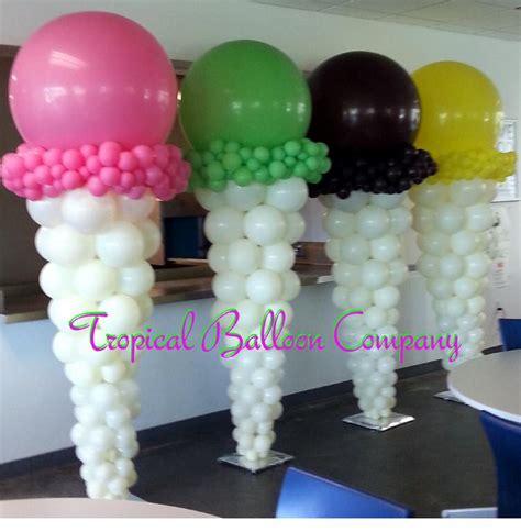 Ice cream bar bat mitzvah ideas pinterest ice balloons and ice cream balloons
