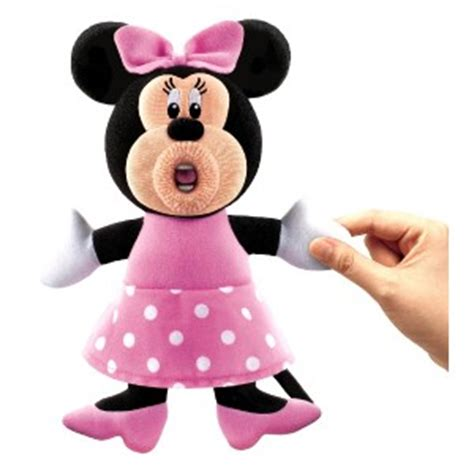 mickey mouse doll house disney sing a ma jigs minnie mouse talking singing doll plush mickey club house ebay