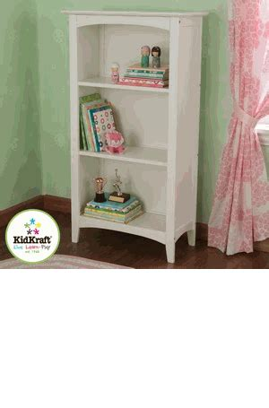 Kidkraft Avalon 3 Shelf Kid Bookcase White Kidkraft White Bookcase