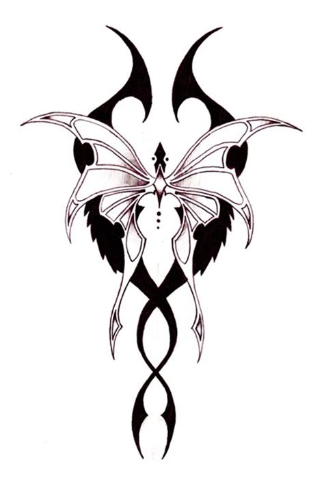 show me tattoo designs cool exle design of tribal butterfly tattoomagz