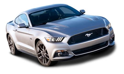 ford car png ford mustang silver car png image pngpix