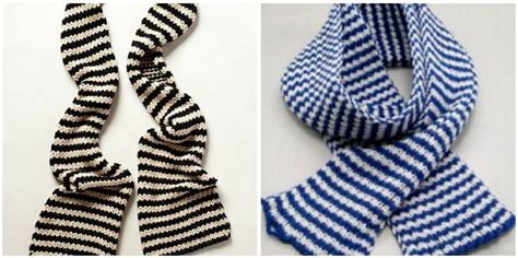 how to knit a striped scarf designer vs diy 7 free knitting patterns stitch and unwind