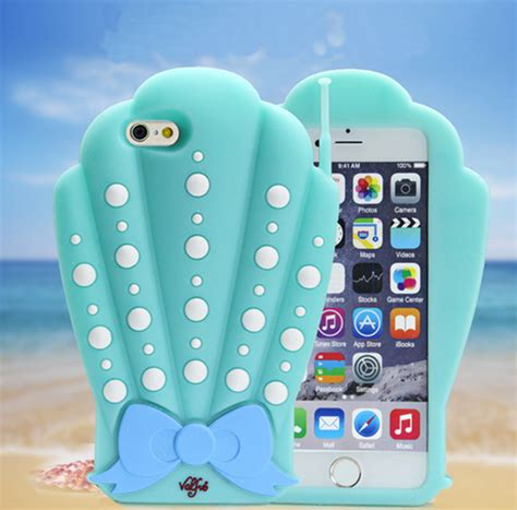 Limited Edition Soft Verus Skin Iphone 6 6s Iphone 6s Plus 3d conch iphone 7 plus cases for conch phone