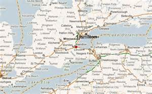 map of hamilton canada hamilton location guide
