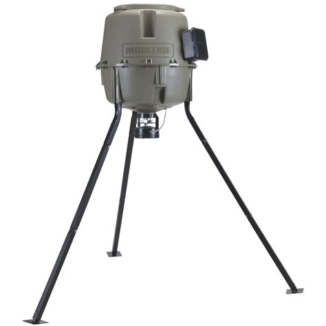 moultrie 30 gallon easy lock feeder 284715 feeders at