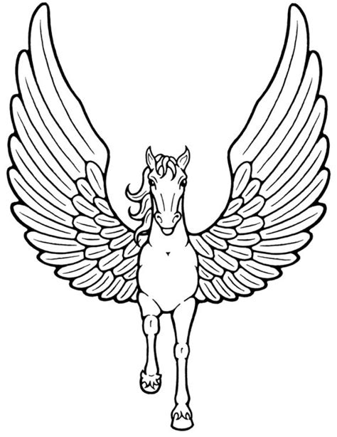 coloring pages of unicorns with wings unicorn with wings flying coloring pages coloring page