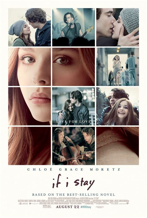 if i stay if i stay fan voted poster warner bros canada