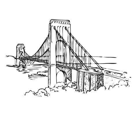 suspension bridge diagram suspension bridge clipart www imgkid the image kid