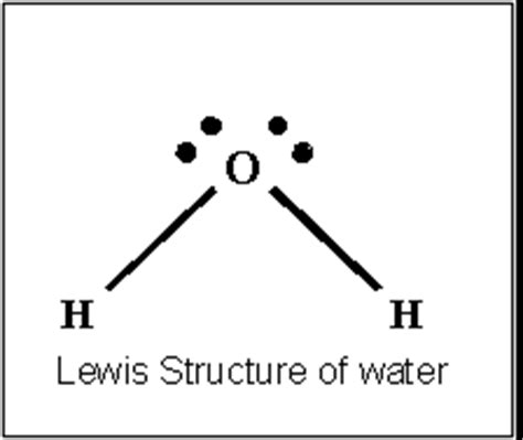 lewis diagram for h2o ch112 olsg