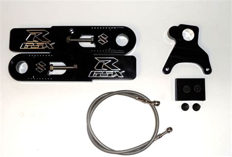 motorcycle swing arm extension 2003 2004 black new suzuki gsxr 1000 swingarm extensions