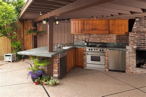 outdoor kitchen ideas for small spaces outdoor kitchen designs for small spaces conexaowebmix