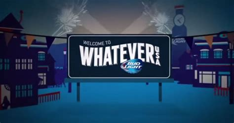 bud light takes a town to create whatever usa in america