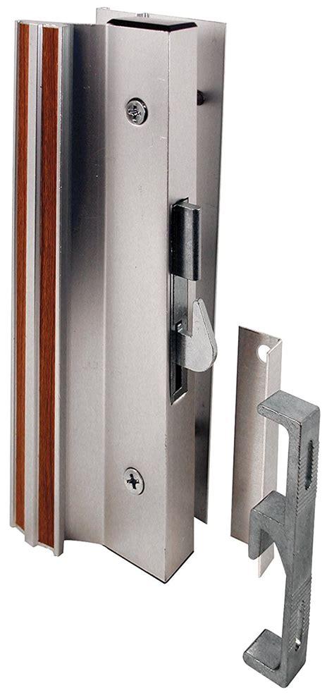 Sliding Glass Door Handle And Lock Prime Line Products C 1000 Sliding Glass Door Handle Lock Hook Style Surface M Ebay