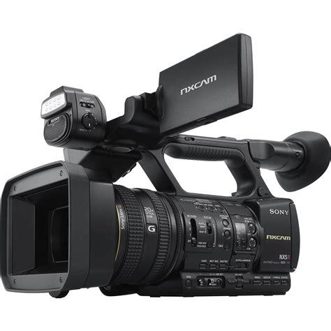 camara video profesional sony hxr nx5r nxcam professional camcorder hxr nx5r b h photo