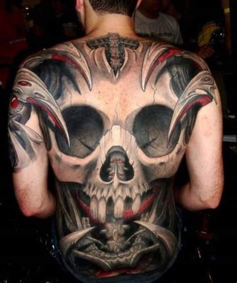 Calf Skin Rug Back Tattoos For Men Ideas And Designs For Guys