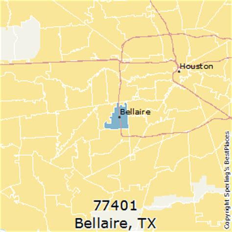 bellaire texas map best places to live in bellaire zip 77401 texas