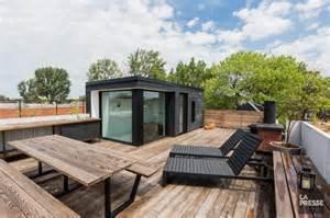 terrasse le la terrasse sur le toit andr 233 dumont conseils