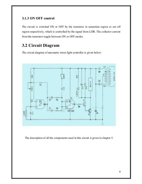 automatic light on off circuit automatic street light controller