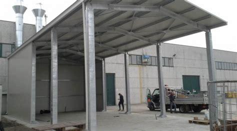tettoie coibentate tettoie e pensiline prefabbricate per ricovero auto o attrezzi