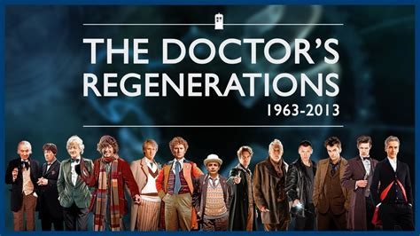 All Doctor Who Regeneration by All The Doctor S Regenerations 1963 Present Doctor