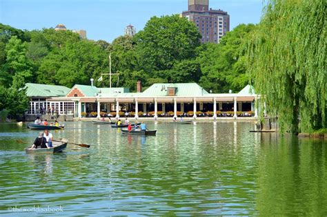 central park row boats hours strolling through central park new york city the world