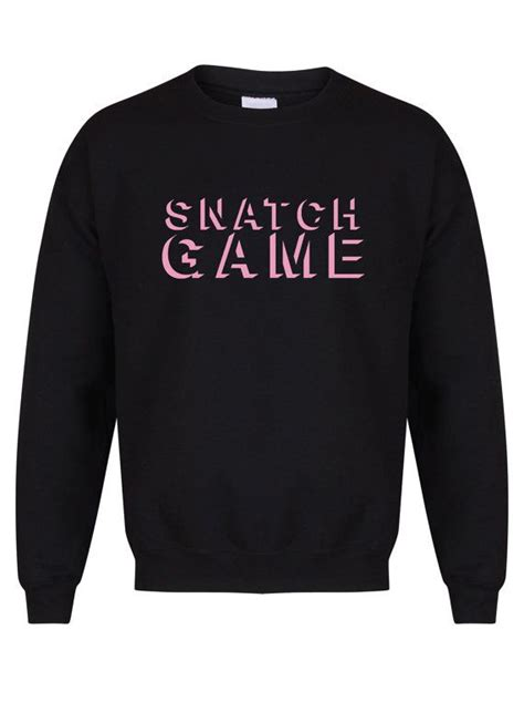 rupaul jumper snatch game unisex fit sweater rupaul s drag race by