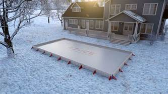 building a backyard rink diy backyard ice rinks backyard ice rink