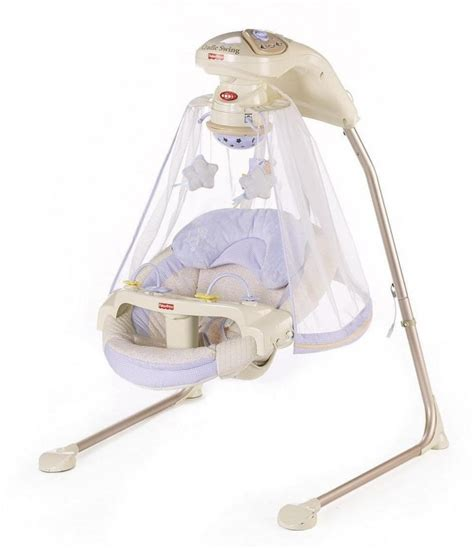 best baby swings that plug in fisher price papasan cradle swing starlight baby life