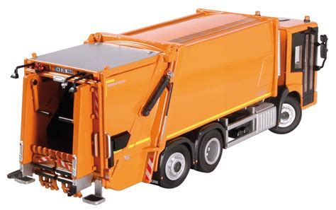 Diecast Siku Mercedes Truck Faun Roto Press mercedes econic with faun variopress garbage