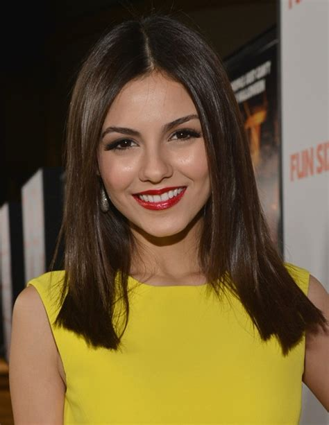 off center part hairstyles celebrity off center parted long hairstyle for 2014