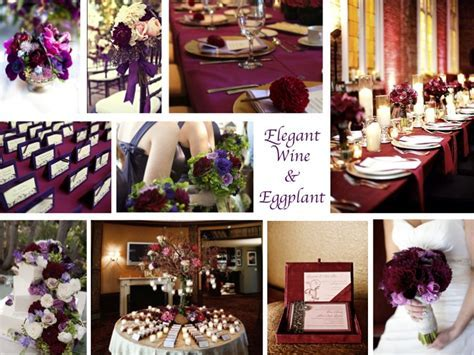Inspiration Board: Wine & Eggplant   Every Last Detail