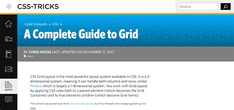 css blog layout tutorial css grid layout tutorials and guides all you need to