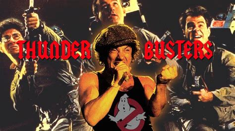 mashup song audio thunder busters ac dc vs ghostbusters mashup by wax audio