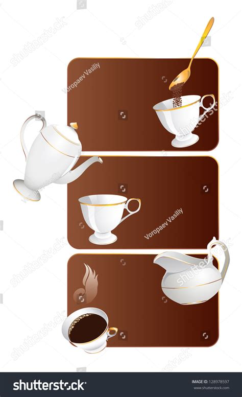 The Illustrations Below Show How Coffee Is Sometimes Produce Testbig by The Figure Shows The Coffee Stock Vector Illustration 128978597