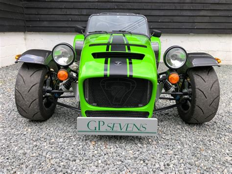 sold caterham    ford duratec supercharged