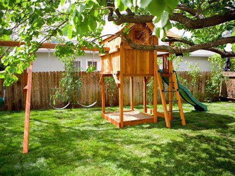 playground for small backyard photos hgtv